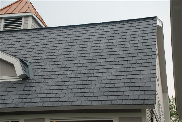 Synthetic slate roof tiles roselawnlutheran for Davinci shingles cost